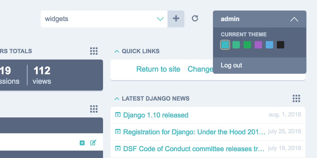 Config File Django Jet 006 Documentation